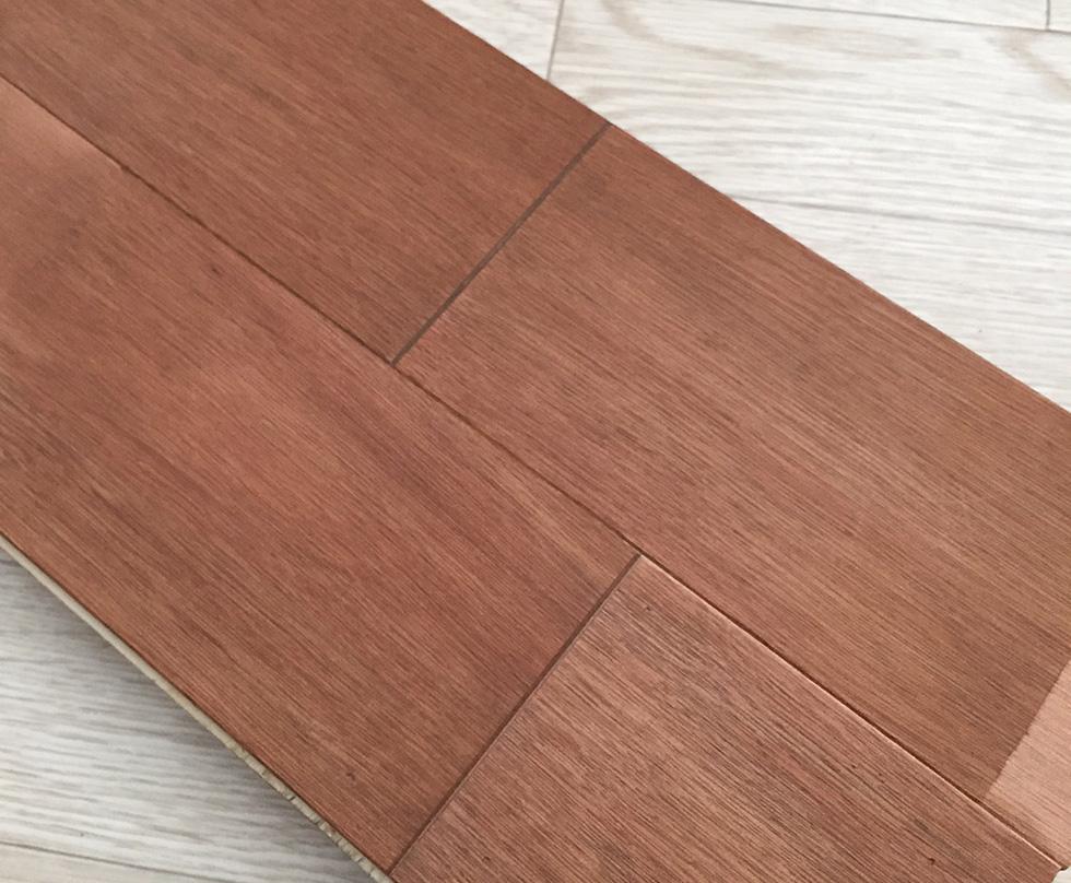ラワン合板の床 サンプル