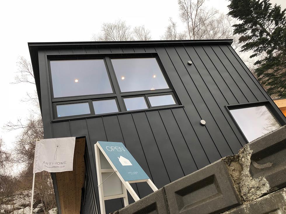 以前一度モデルハウスに行った事があるアートホームさん。 建てている家の雰囲気が好きで今回オープンハウスにお邪魔させていただきました。